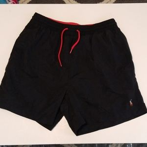 Mens 90s Polo Ralph Lauren Swim Trunks.
